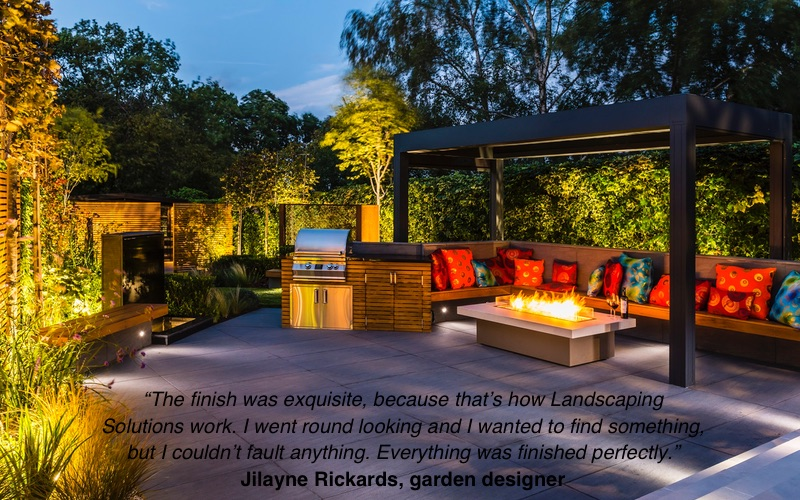 BALI Award winning garden by Landscaping Solutions.