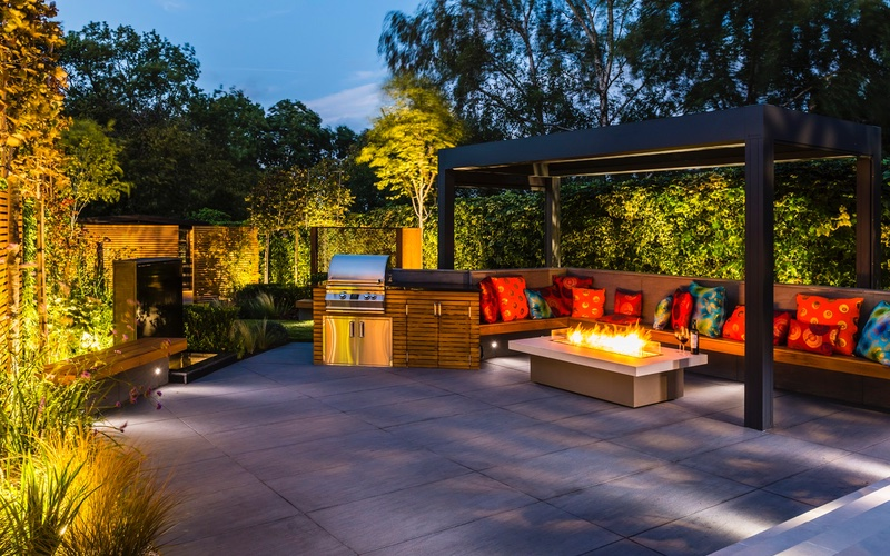 BALI Award Winning Garden Patio By Landscaping Solutions