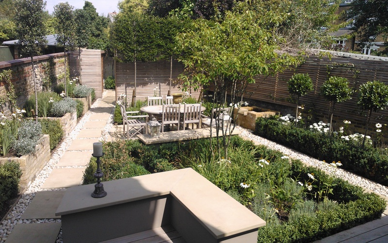 Landscaping Solutions, Barnes, London garden design.