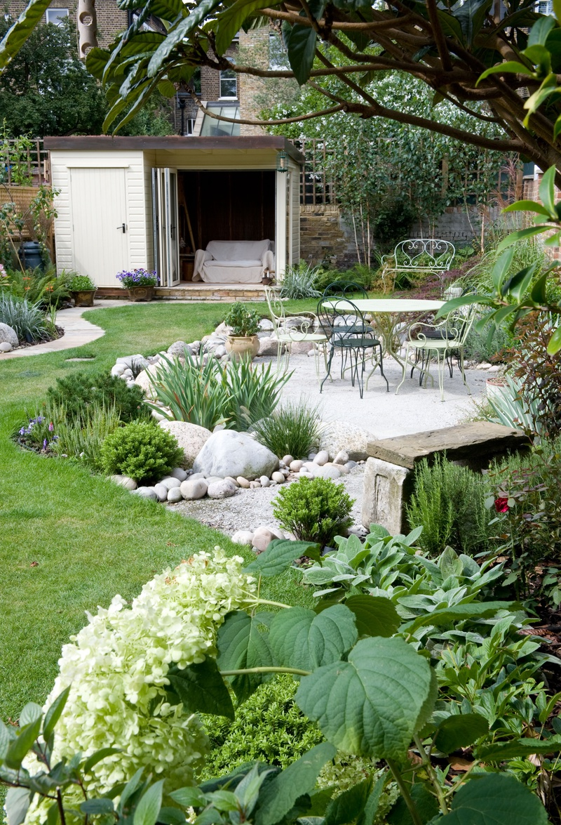 Beautifully balanced garden design