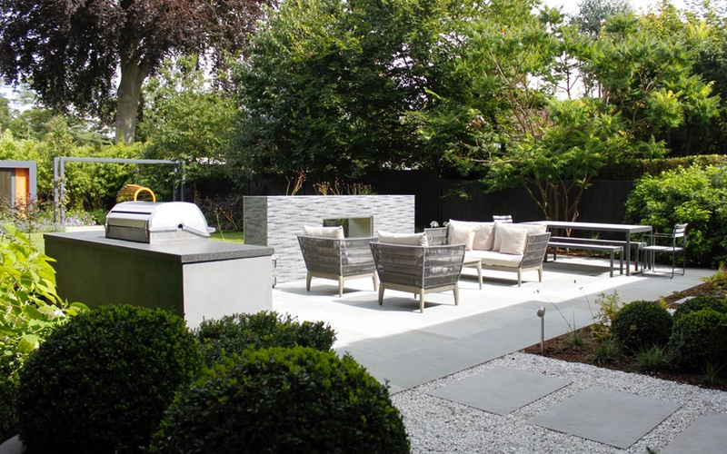 Completed Garden Design And Landscaping Richmond, Surrey