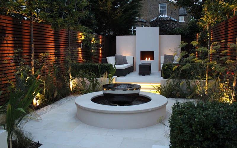 Garden Design By Landscaping Solutions In Clapham, London.